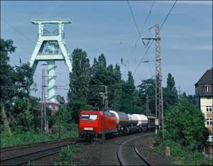 Güterzug in Bochum