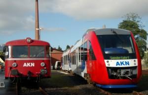 Züge der AKN