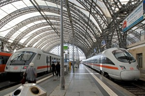 Fernzüge in Dresden