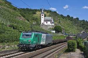 SNCF-Güterzug in Deutschland