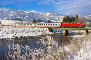 Das Allgäu ist zu jeder Jahreszeit eine Reise wert - auch mit dem Zug