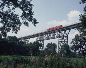 InterCity im Diesellok in Norddeutschland