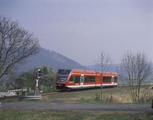 Regionalzug auf der Kurhessenbahn