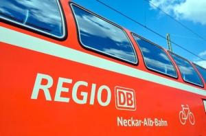 Der Regionalverkehr auf der Neckar-Alb-Bahn wird stärker belastet