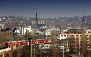 Regionalexpress in Stuttgart