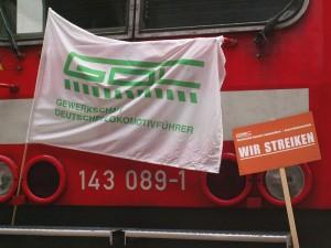 Der Lokführerstreik von 2007 ist noch in guter Erinnerung