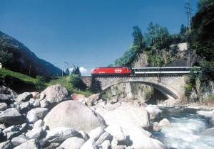Die Schweiz hat das dichteste und beste Eisenbahnnetz der Welt