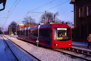 Citybahn Chemnitz in Stollberg (Sachsen)