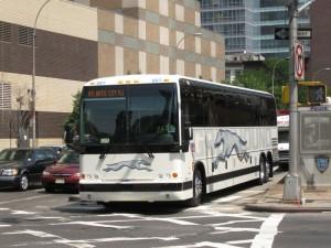 Fernbus nach Atlantic City
