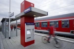 Noch stehen Fahrkartenautomaten überall