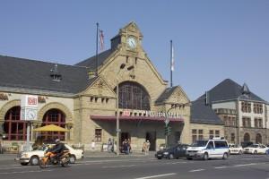 Das Eisenacher Bahnhofsgebäude wird energetisch saniert