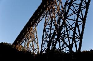 Die Müngstener Brücke ist die höchsten Eisenbahnbrücke Deutschlands
