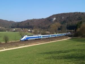 Der TGV ist schon lange in Deutschland unterwegs