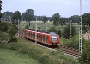 Regionalbahn bei Stendal