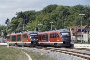 Regionalzüge in Bad Doberan - und wie geht es dann weiter?