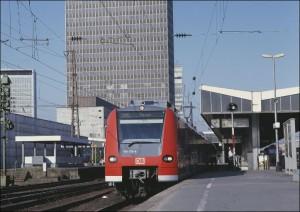 Regionalbahn in Essen