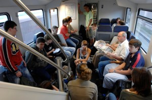 Im Sommer kann ein Zug ohne Klimaanlage zum Glutofen werden