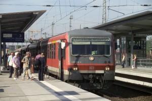DB-Regionalzug nach Stettin