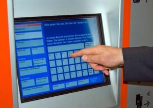 Neuer DB-Fahrscheinautomat