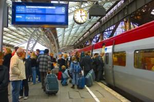 Thalys im Kölner Hauptbahnhof