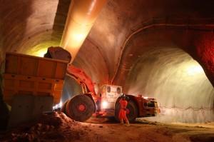Tunnelbau bei der Bahn