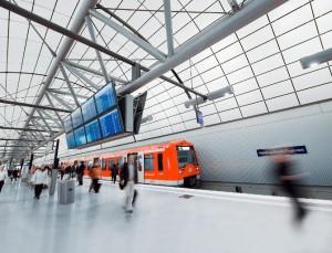 Die S-Bahn zum Hamburger Flughafen wird gut angenommen