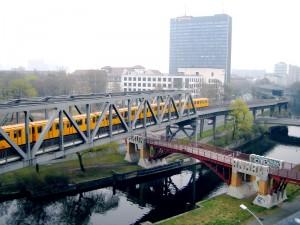 U1 am Landwehrkanal