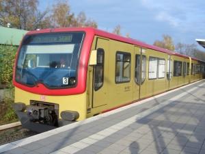 Ein Bild aus besseren Zeiten: S-Bahn Berlin am 13. November 2005