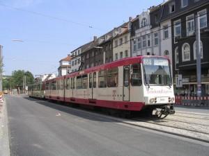 B-Wagen der Stadtwerke Bonn