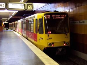 U18 im Mülheimer Hauptbahnhof