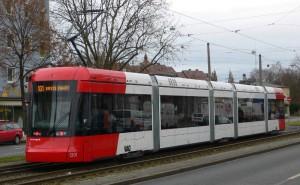 Variobahn in Nürnberg