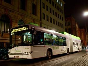Solaris-Hybridbus der Üstra Hannover