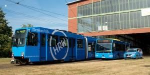 Die Hochschule Ruhr West ist im ÖPNV allgegenwärtig