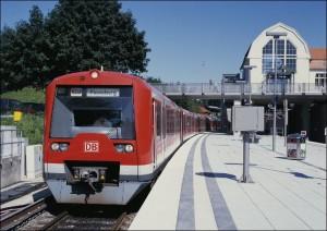 Bis hier und nicht weiter: S-Bahn in Pinneberg