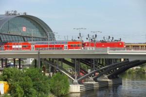 Regionalzug in Berlin