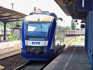 Mit dem Harz-Elbe-Express zur Arbeit