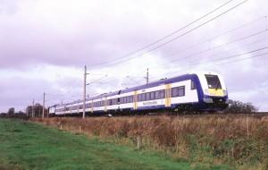 Nord-Ostsee-Bahn zwischen Hamburg und Westerland