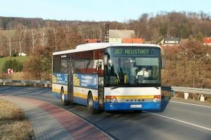 Viele sächsische Kinder fahren mit dem Bus zur Schule