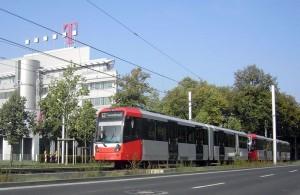 Busverkehr auf dem Telekom-Express
