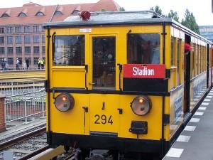 Historischer Triebzug vom Typ AI der U-Bahn Berlin