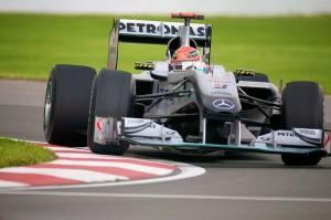 Michael Schumacher im Mercedes-Silberpfeil