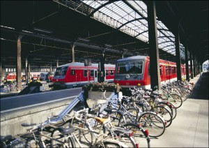 Viele Wege lassen sich mit Fahrrad und ÖPNV zurücklegen
