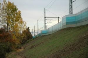 Schallschutzwände sind am Oberrhein nicht vorgesehen