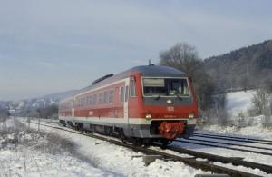 Regionalbahn bei Nürnberg