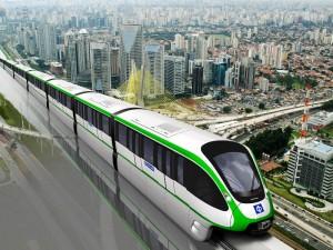 Neue Einschienenbahn für São Paulo