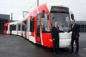 Neue Niederflurstraßenbahnen für Krefeld
