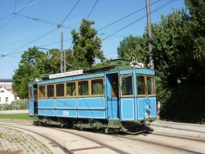 Historischer A-Wagen der Stadtwerke München