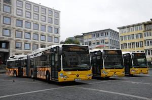 Hybridbusse in Stuttgart