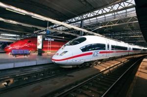 ICE und Thalys in Brüssel