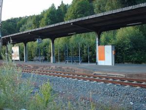 Der Bahnhof Olsberg wird verbessert